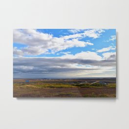 Nome in Autumn Metal Print
