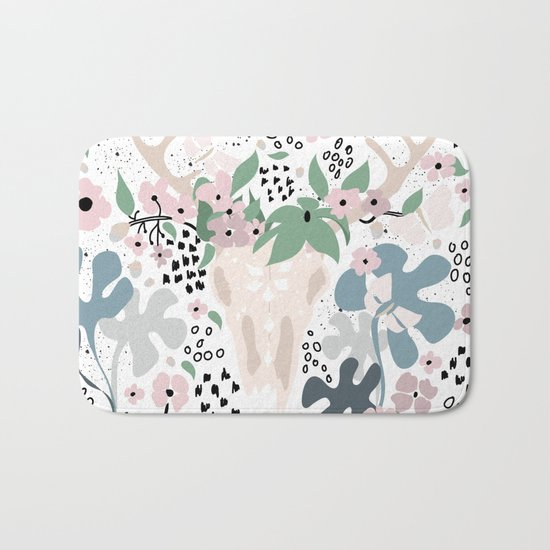 Deer paradise Bath Mat