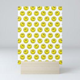 Smiley M Mini Art Print