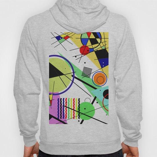 Retro Crazy - Abstract, random, crazy, geometric, colourful artwork by printpix
