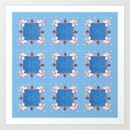 PATTERN - JAPANESE DREAM Art Print