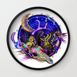 Lizard at the Dance Wall Clock