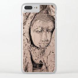 Buddha in a Banyon Clear iPhone Case