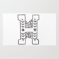 H is for Rug