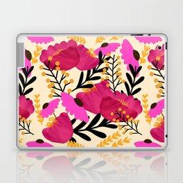 Vibrant Floral Wallpaper Laptop & iPad Skin