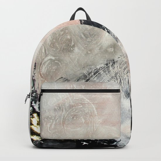 Saponification Abstraction Backpack