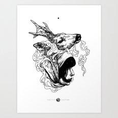 Nyama Art Print