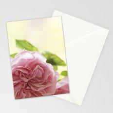 Wonderful pink Roses in LOVE - Vintage Rose Stilllife Photography Stationery Cards