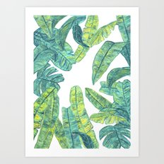 tropical daze Art Print