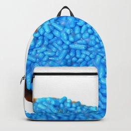 Blue Doughnut Backpack