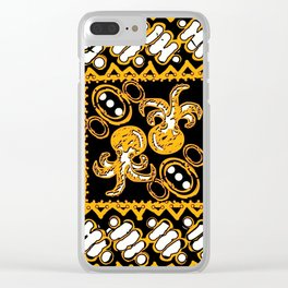 his art in no squid Clear iPhone Case
