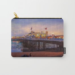 Brighton Pier Twilight Carry-All Pouch