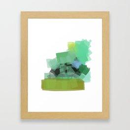Ode to green 4 Framed Art Print