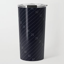 Airliner Aircraft Pattern Travel Mug
