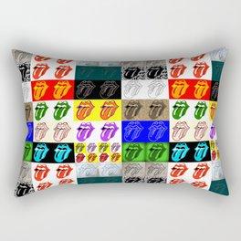 Licks & Stones Rectangular Pillow