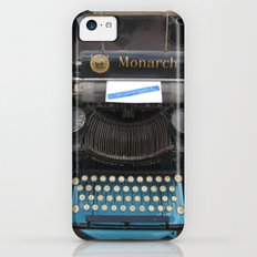 Typewriter Slim Case iPhone 5c