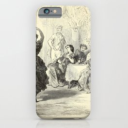 Gustave Doré - Spain (1874): Gypsies dancing, Seville iPhone Case