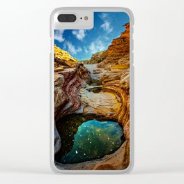 Ernst Canyon, Big Bend Clear iPhone Case