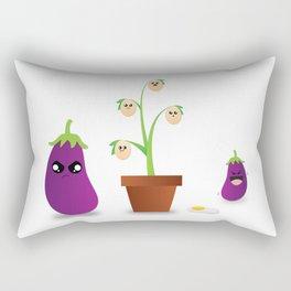 Egg Plant Rectangular Pillow