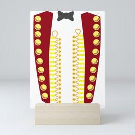 RINGMASTER CIRCUS COSTUME SHOWMAN Costume Suit Mini Art Print