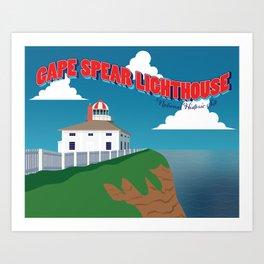Cape Spear - Canadian Historic Sites' Series Art Print