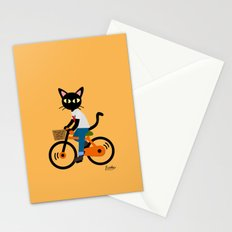 Summer cycling Stationery Cards