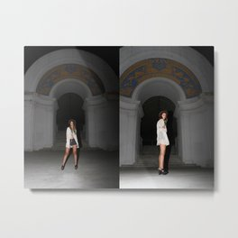 Chloe Sunnyside Metal Print