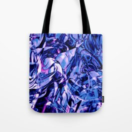 Fluid Painting 3 (Blue Version) Tote Bag