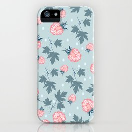 Fashion berries pattern design iPhone Case