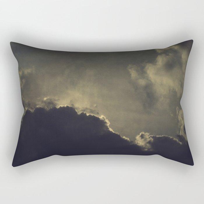 Over Kansas Rectangular Pillow