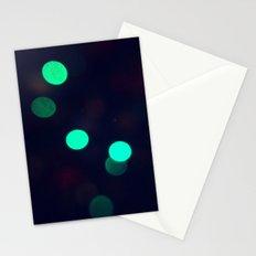 Green Spots Stationery Cards