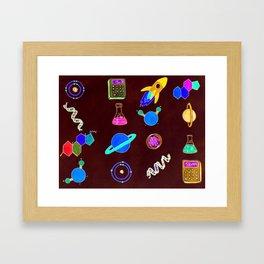 Science II Framed Art Print