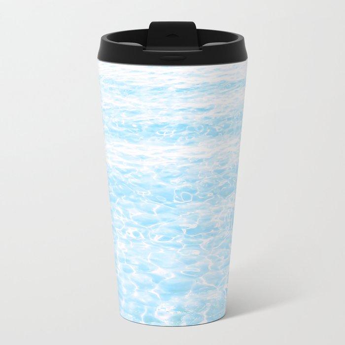 peaceful sea Metal Travel Mug