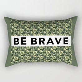 BE BRAVE Camo Collection Rectangular Pillow