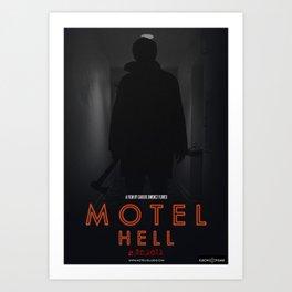 Motel Hell 2012 Hallway 1 Art Print