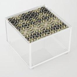 Tribal Gold Glam Acrylic Box