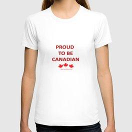 Proud Canadian T-shirt