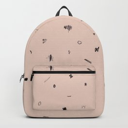 Scribbles Wheat Backpack