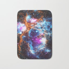 Cosmic Winter Bath Mat