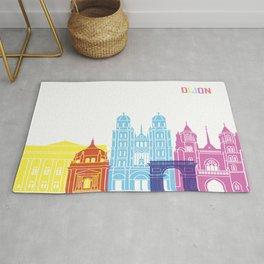 Dijon skyline pop Rug