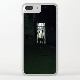 #280 Walk in the #Light Clear iPhone Case