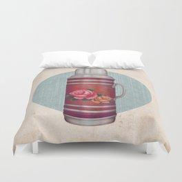 Retro Warm Water Jar Duvet Cover