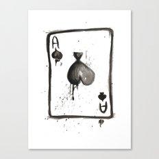 Be an Ace Canvas Print