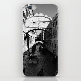 Venice water road iPhone Skin