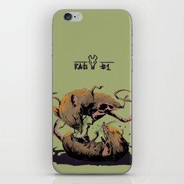 rat fight iPhone Skin