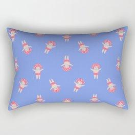 Pink Mushroom Rectangular Pillow