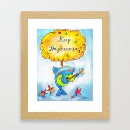 Keep Daydreaming : Print 02/05  Framed Art Print