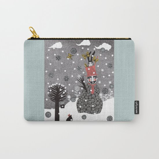 Snow Magician Carry-All Pouch