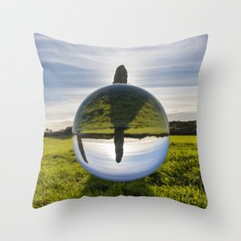 Penrhos Feilw lens ball 2 Throw Pillow