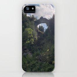 Arch Rock Mackinac Island iPhone Case